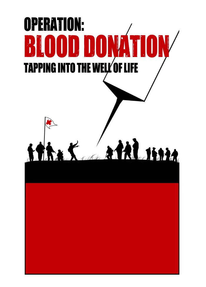 Blood Donation - T-Shirt Design