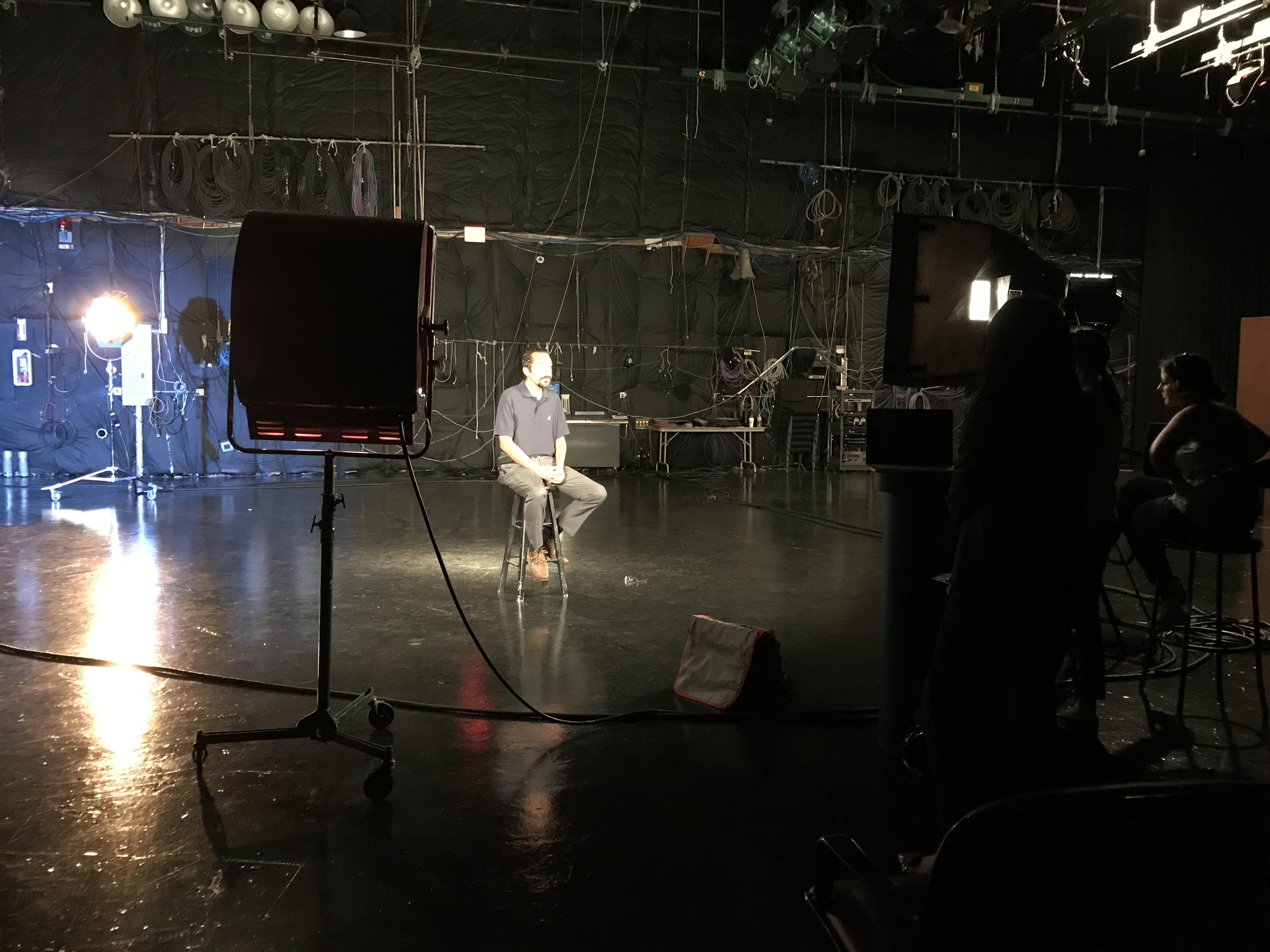 'film-maker' profile shoot!