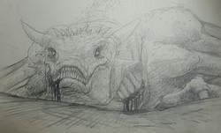Slain Dragon