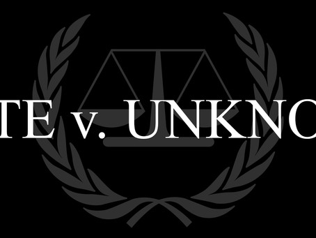 Blog Post #109: Production of 'State v. Unknown' Halfway Complete!