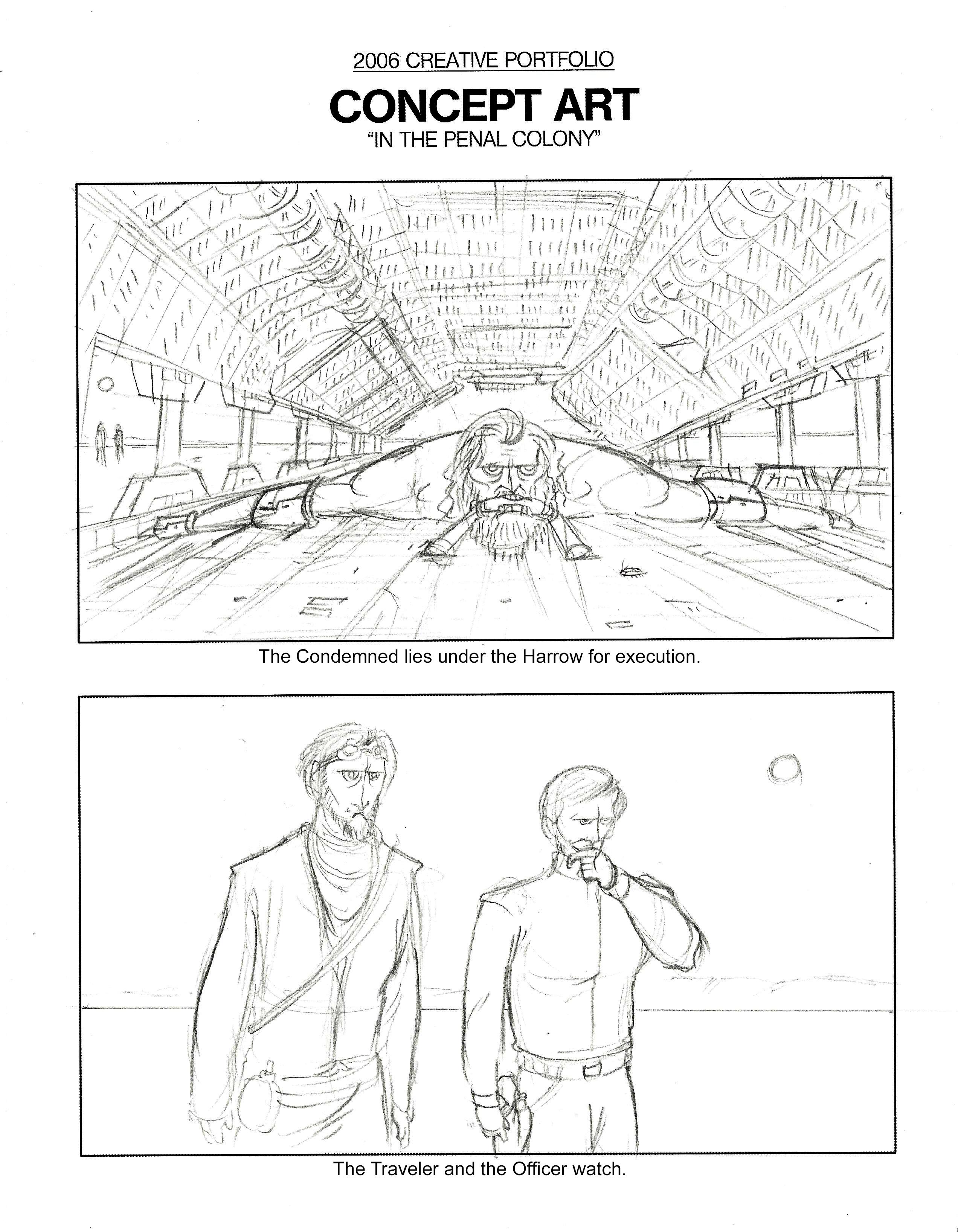 UCF Creative Portfolio - Concept Art
