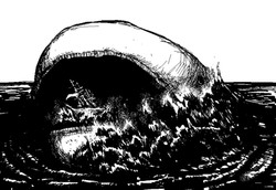 MS Paint - Sea Monster