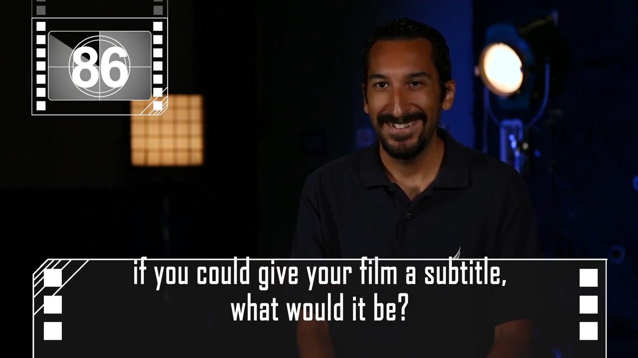 'film-maker' interview!