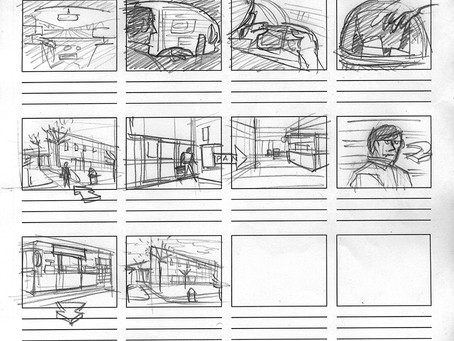 Blog Post #22: 'Breakfast, Lunch and Dinner' Storyboards