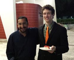 Ben Morris and me.