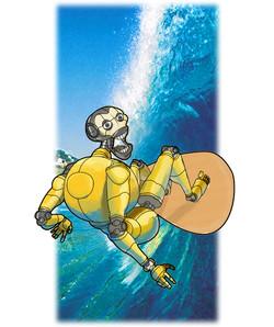 Surfing Robot