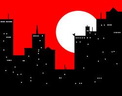 MS Paint - Gotham Night
