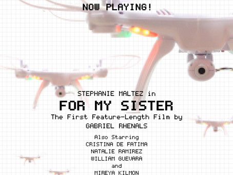 Blog Post #92: 'For My Sister' Now Playing on Vimeo!