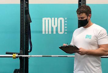 Myo Durham fitness homepage