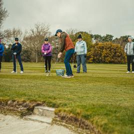 Filming at Farnham Sands Golf Club
