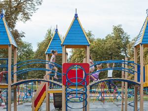 Brighton Kiwanis Park with New Glider