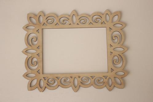 Laser Cut Wood Frame, 5 x 7 | cardinalartsandcrafts.net