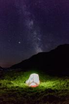 schlafen unter den Sternen