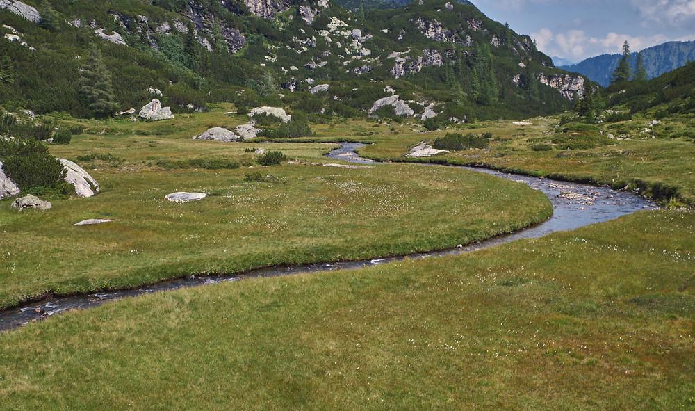 Der Giglachbach in den Schladminger Tauern