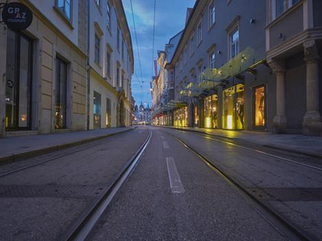 Sackstraße in Graz