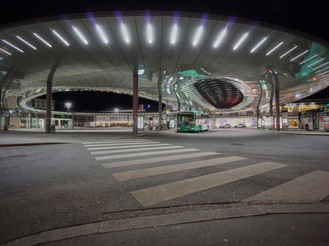 Der Hauptbahnhof in Graz