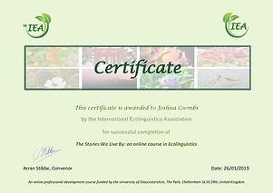 Ecolinguistics Certificate.Jpg
