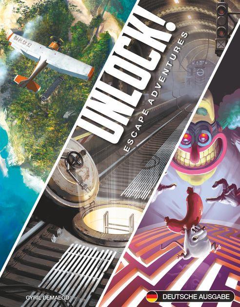 Unlock!: Escape Adventures   Board Game   BoardGameGeek