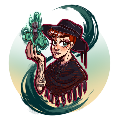Blazed Witch Icon