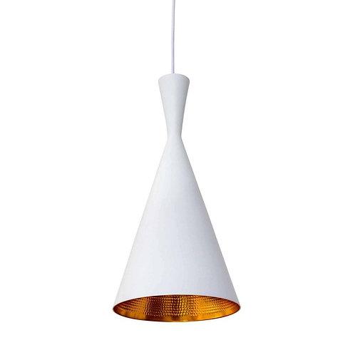 Jayda Tall Pendant Lamp - White