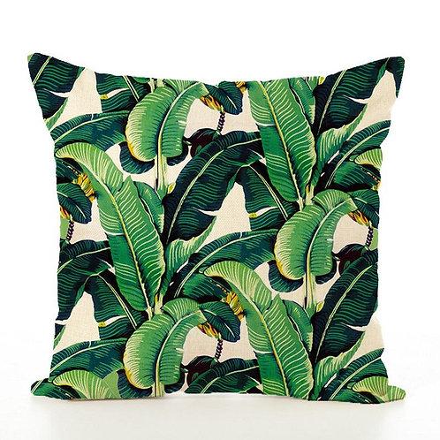 Banana Leaves Pillow Cover