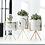Thumbnail: Nordic Ceramic Iron Art Tabletop Vase