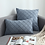 Thumbnail: Modern Simple Nordic Plaid Pillow Cover Suede