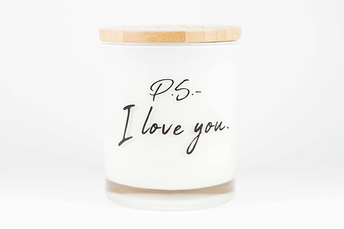 PS I Love You Soy Candle