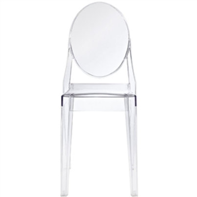 Stackable Clear Acrylic Dining Chair