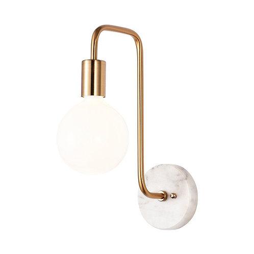 Rachel Marble Curve Wall Lamp