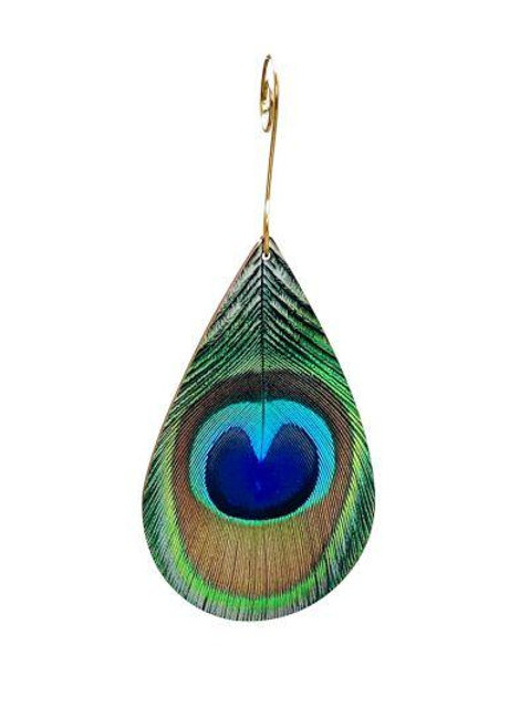 Peacock Feather Ornament #9919