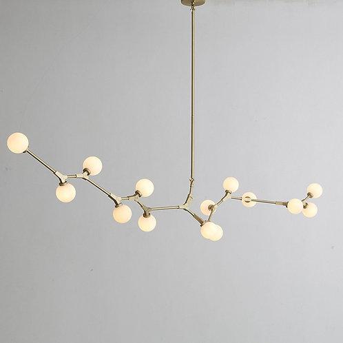 Hendrix Chandelier - 14 Bulbs - Gold