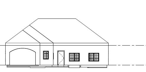 Meme G Model Home Elevation