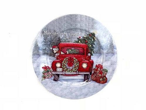 Tin Truck Plate