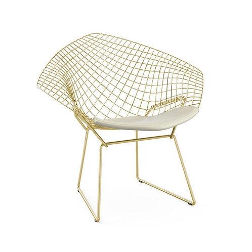 Stephanie Lounge Chair - Gold Version