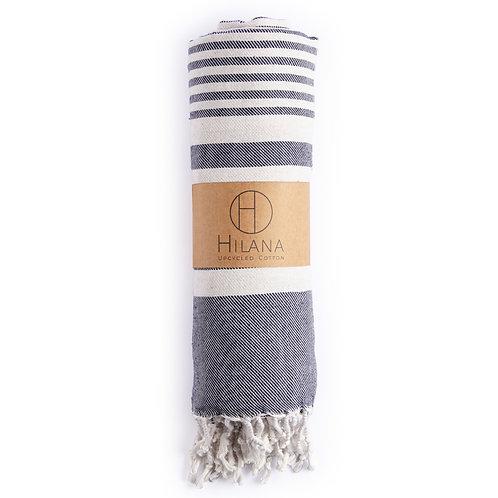 Fethiye Blanket Throw - Blue