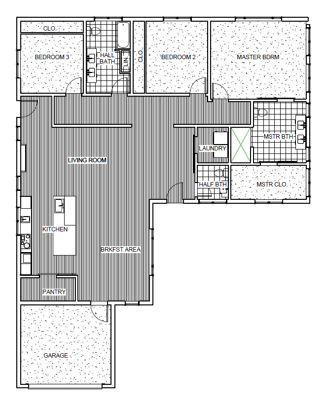 Meme G Model Home Floor Plan