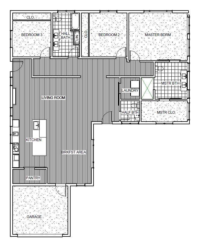 Meme G Model Home Floor Plan