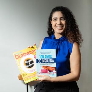 Jornalista Letícia Martins lança livro sobre os 100 Anos da Insulina