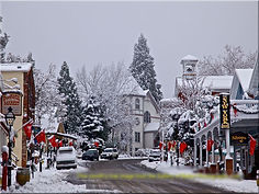 Snow in Nevada City