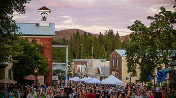 Hot Summer Nights in Nevada City
