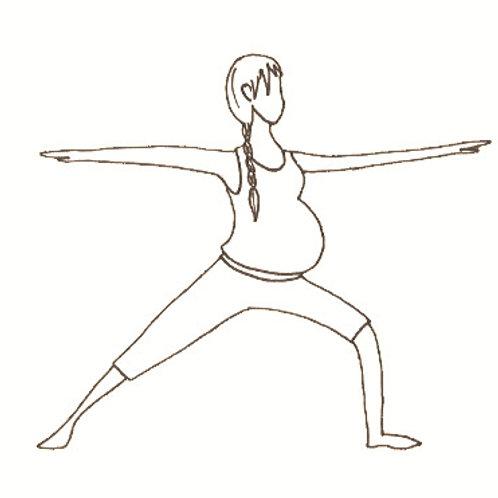 """Online -Workshop """"Mit Yoga durch die Geburt"""" (für Wiederholungstäter)"""