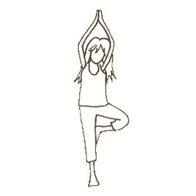 Yogaglückskindkurs Girls only (6-11 Jahre)