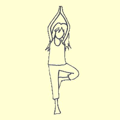Yogaglückskindkurs Girls only (9-12 Jahre)