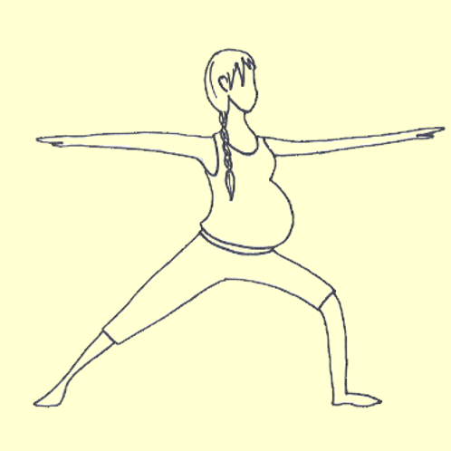 """Yogagglückskind - Online -Workshop """"Wie Yoga dich durch die Geburt begleiten ka"""""""
