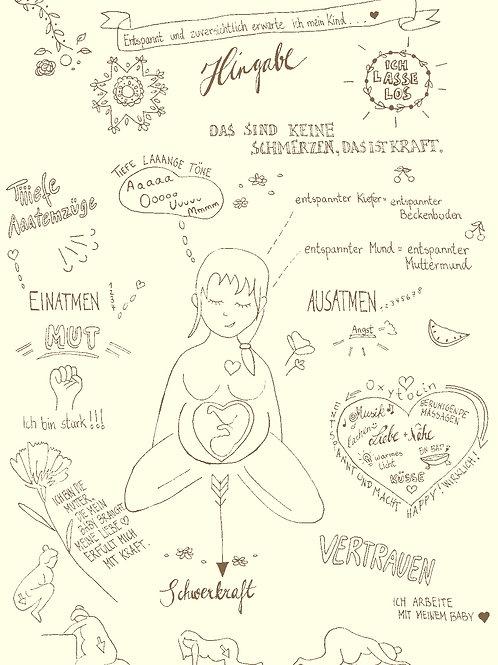 Online - Einzelsession Yoga und mentale Geburtsvorbereitung