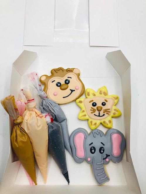 Zoo decorating kit