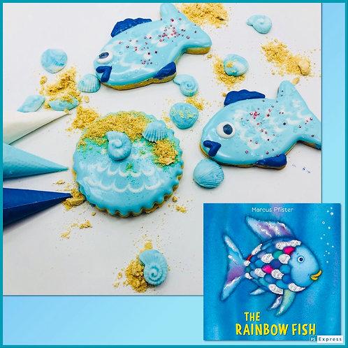 Rainbow Fish Decorating Kit