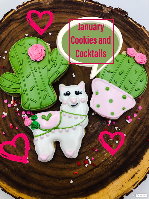 January 23 cookies and Cocktails