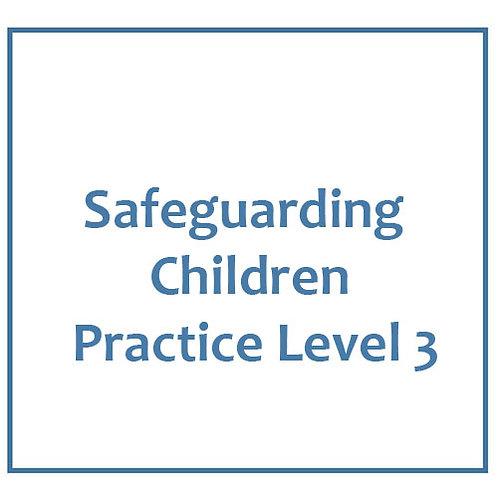 Safeguarding Children Practice Level 3
